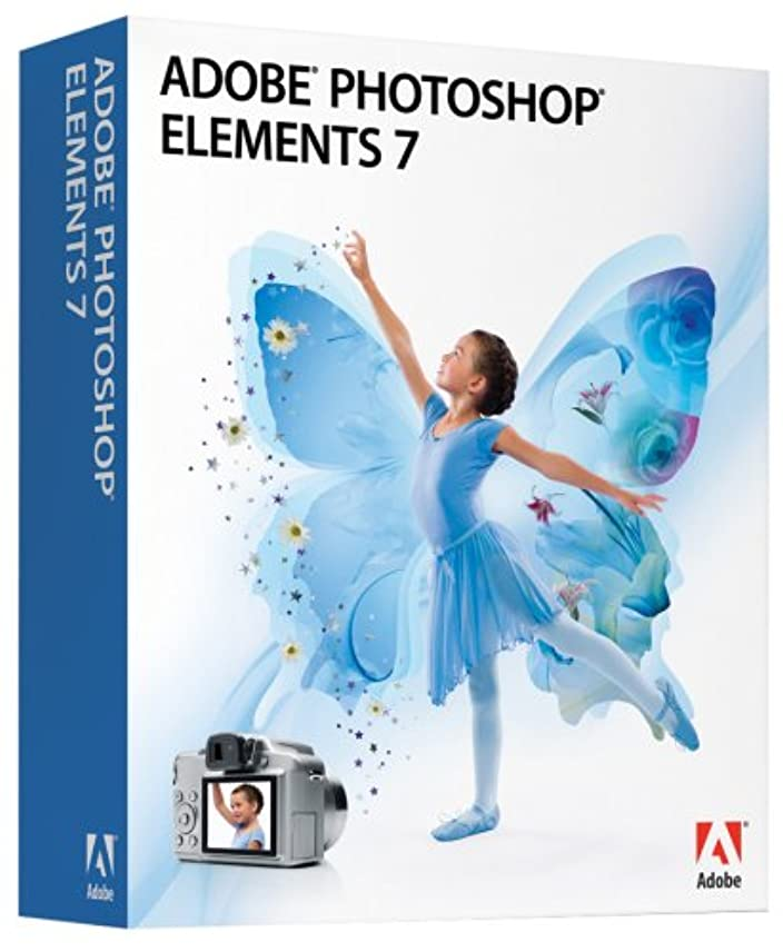 ストリップ二度英語の授業がありますPhotoshop Elements 7 英語版 WIN 通常版 アドビ(パッケージ) 5051254313243 65032440