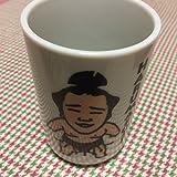 栄峯 日馬富士HARUMAFUJI 陶器製 湯呑み茶碗 コップ 相撲 力士