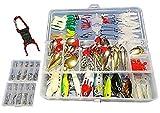 選べる ルアー アソート セット + ボトルリング ホルダー 練習用 釣り具 バスフィッシング 海釣り (120個+釣針100本)