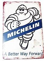 Michelin/ミィシュラン/ビバンダム君/金属板広告プレート/ヴィンテージ看板のレプリカ