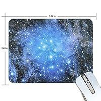 Anmumi マウスパッド 滑り止め 宇宙柄 星 星柄 19×25cm ゲームに適用 かわいい オシャレ レディース メンズ 子供 ゴム 実用性 パソコン対応
