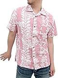(ルーシャット)ROUSHATTE アロハシャツ 大きいサイズ 綿裏使い 20color 5L レンガ