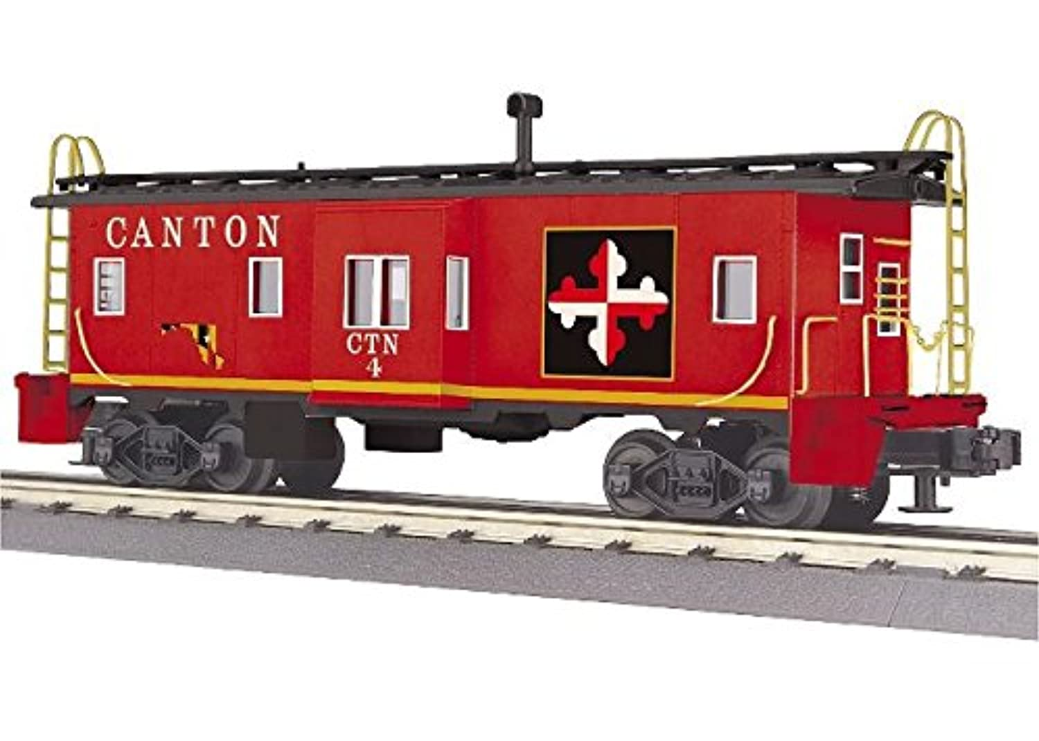 MTH Trains ; MikesトレインHouse Canton Bay Window Caboose
