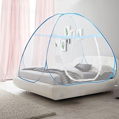 OTraki モスキートネット ベッド 幅150cm 長さ2...