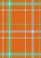 ポスター ウォールステッカー シール式ステッカー 飾り 364×515㎜ B3 写真 フォト 壁 インテリア おしゃれ 剥がせる wall sticker poster pb3wsxxxxx-004454-ds チェック・ボーダー チェック オレンジ 緑
