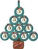 ハマナカ 編み物キット クリスマス リンリンもみの木 壁掛け H301-485