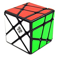 DSstyles Moyu Yj Crazy Fisher Speed Cube Puzzle Black