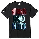 (ルーディーズ) RUDIE'S×Nothing's Carved In Stone DRAWING-T (SS:TEE)(84748-BK) Tシャツ 半袖 ナッシングスカーブドインストーン XL ブラック