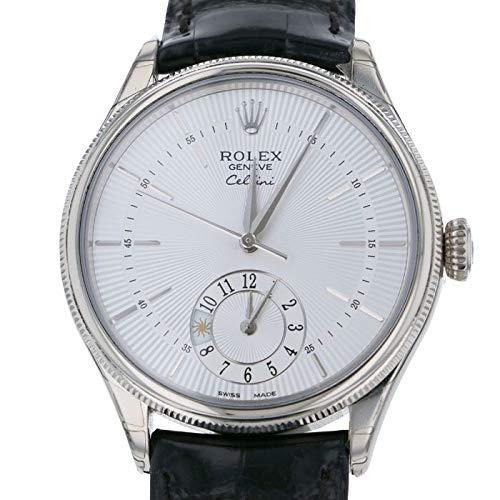 (ロレックス) ROLEX 腕時計 チェリーニ デュアルタイム 50529 シルバー メンズ [並行輸入品]