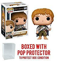 Funko POP 。Movies : The Lord of the Rings – Samwise Gamgee # 445 Vinyl Figure (バンドルwith Popボックスプロテクターケース)