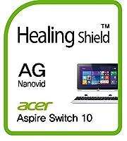 Healingshield スキンシール液晶保護フィルム Anti-Fingerprint Anti-Glare Matte Film for Acer Laptop Aspire Switch 10