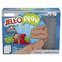 Jell O Jurassic World Strawberry & Lime Build & Eat Kit ジェラオジュラシックワールド イチゴ&ライムビルド&イートキット 170g [並行輸入品]