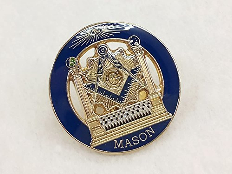 フリーメイソン(Freemasonry)ピンバッジ G