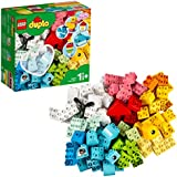 LEGO DUPLO Classic Heart Box 10909 First Building Playset and Learning Toy for Toddlers, Great Preschooler's Developmental Toy