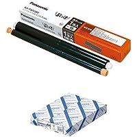 パナソニック 普通紙FAX用インクフィルム KX-FAN190 + コクヨ コピー用紙 A4 白色度80% 紙厚0.09mm 500枚 FSC認証 KB-39N セット