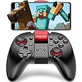 Android Bluetooth スマホ コントローラー BEBONCOOL TELEC認証 Minecraft 対応 ゲーム 連射機能搭載 ゲームパッド Qixun Tech