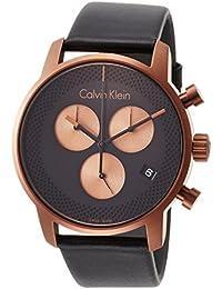 [カルバンクライン]CALVIN KLEIN 腕時計 City(シティ) 2針 ETA社クオーツ クロノグラフ K2G17TC1 メンズ 【正規輸入品】