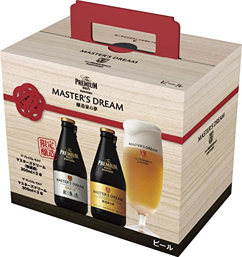 【ビール】サントリー  ザ・プレミアム・モルツ マスターズドリーム 305ml瓶×6本セット
