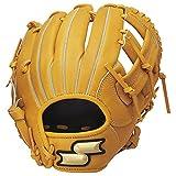 SSK(エスエスケイ) 野球 少年軟式グラブ スーパーソフトシリーズ オールラウンド用 ライトオレンジ 右投用 SSJ751