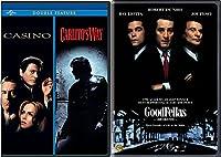 The Goodfellas & Casino + Carlito's Way Mob Crime collection Movie Set