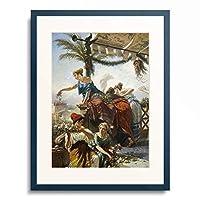 Caesar Mariani 「The Triumph.」 額装アート作品