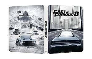 【Amazon.co.jp限定】ワイルド・スピード ICE BREAK スチール・ブック仕様本編ブルーレイ+特典DVDセット ※数量限定 [Blu-ray]