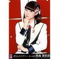 AKB48 公式生写真 君はメロディー 劇場盤 Maxとき315号 Ver. 【西潟茉莉奈】