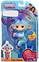 WowWee Fingerlings Interactive Baby Monkey Puppet AVA 2 Tone Blue to Purple [並行輸入品]