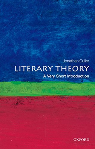 Download Literary Theory: A Very Short Introduction (Very Short Introductions) 0199691347