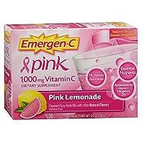 [海外直送品]Alacer Emergen-C Pink エマージェンC ビタミンC ピンクレモネード 30袋