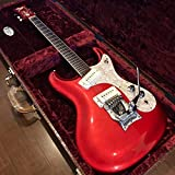 Mosriteモズライト Made in USA 1965年仕様 ベンチャーズmodel Candy Red高級クロコダイル ハードケース付エレキギター