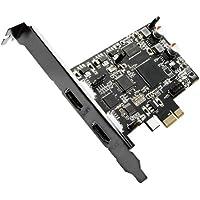 Drecap 1080P/60fps録画対応 HDMIキャプチャーカード [ Nintendo Switch、PS4、XboxOne/S、Xbox360、WiiU 録画確認済 ] PCI-E接続