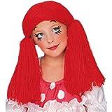 Best RUBIE'S人形 - ルービーズ RUBIE'S キッズ/子供/チャイルド 赤い人形少女かつら/ウィッグ(品番50854) SEC-50854 Review