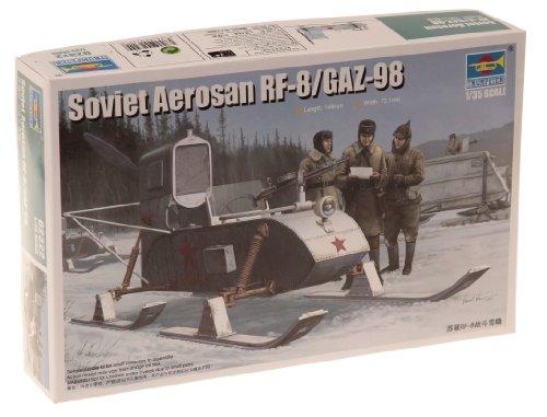 1/35 ソビエト軍 RF-8 武装スノーモービル