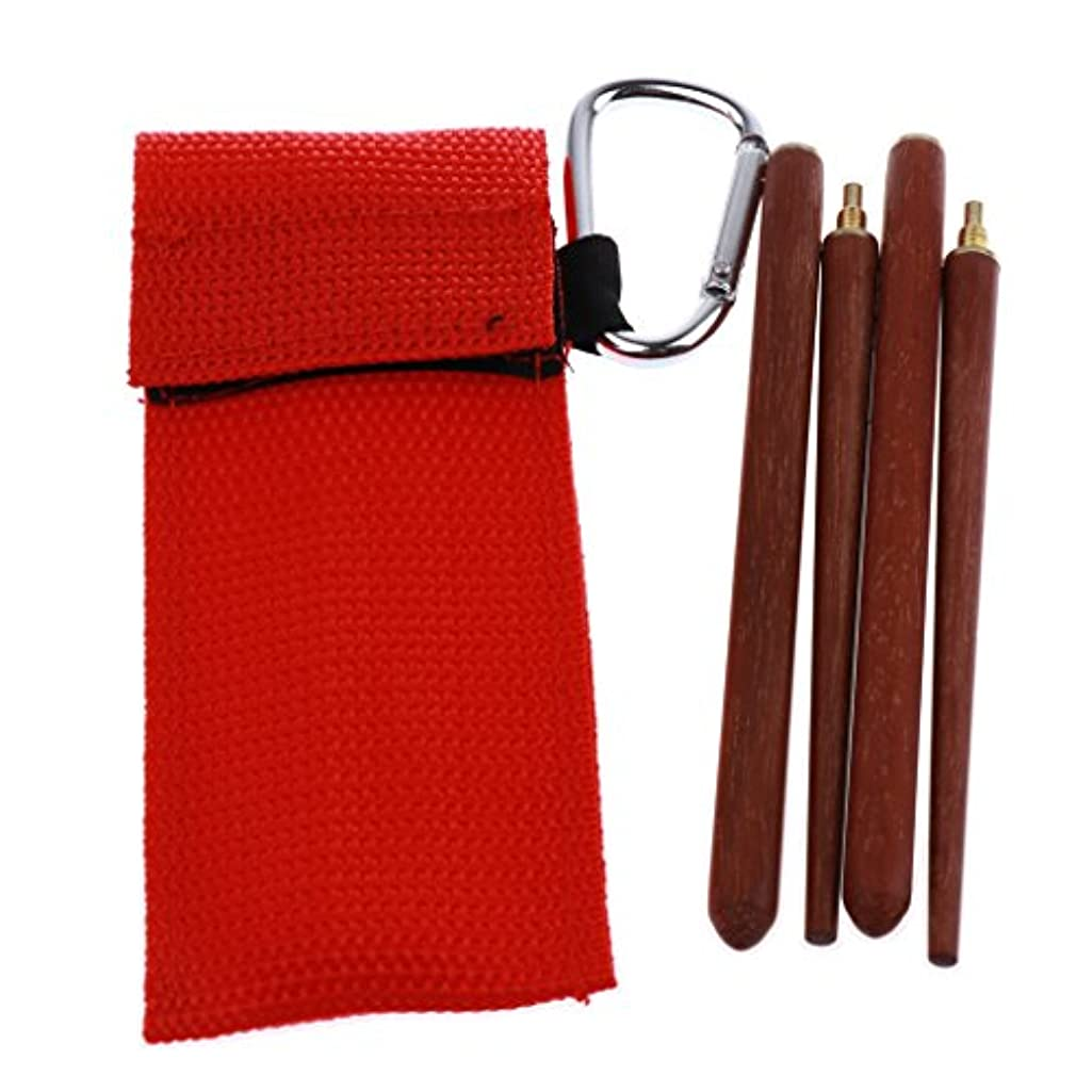 比喩習慣流Baosity アウトドア キャンプ 折り畳み式箸 キャリーバッグ付き トラベル カトラリー 箸