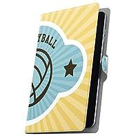 タブレット 手帳型 タブレットケース タブレットカバー カバー レザー ケース 手帳タイプ フリップ ダイアリー 二つ折り 革 スポーツ イラスト シンプル 003573 Gecoo Tablet A1 Light Gecoo ギーク A1G ギーク a1lighttab a1lighttab-003573-tb