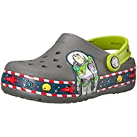 Crocs Boys Crocband FL Buzz Lights Clog K Clogs & Mules