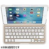 BELKIN iPad mini 4用 QODE Ultimate Liteキーボードケース ホワイト/ゴールド F5L191QEWGW