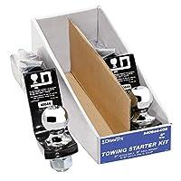 "draw-tite Towing Starter Kit, w/quick-loading 2"" Sq。ボールマウント40644–002"