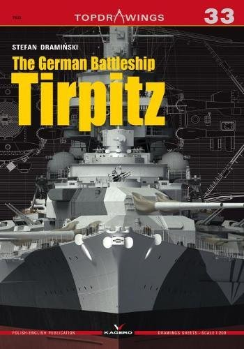 The German Battleship Tirpitz (Topdrawings)