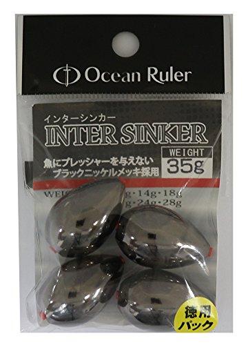 OceanRuler(オーシャンルーラー) インターシンカー 35g 徳用.