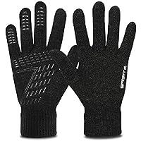 Yobenki ニット手袋 冬 タッチ手袋 スマホ対応 暖かい 冬小物 防寒手袋 メンズ レディース 通勤 通学