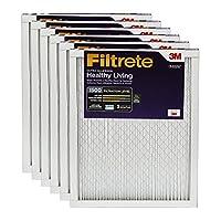 3M Filtrete Healthy Livingフィルター 12x12x1 ホワイト UR10-6PK-2E 6