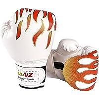 ボクシング グローブ こども用 LangRay 6オンス ムエタイ キックボクシング トレーニング 空手 キッズ PUレザー