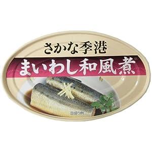 信田缶詰 まいわし和風煮 100g×30缶