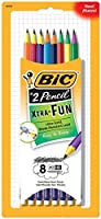 2パッケージセットBic Xtra Fun Ultra Solid Break Resistant # 2 Pencils ( 8 Count X 2 )
