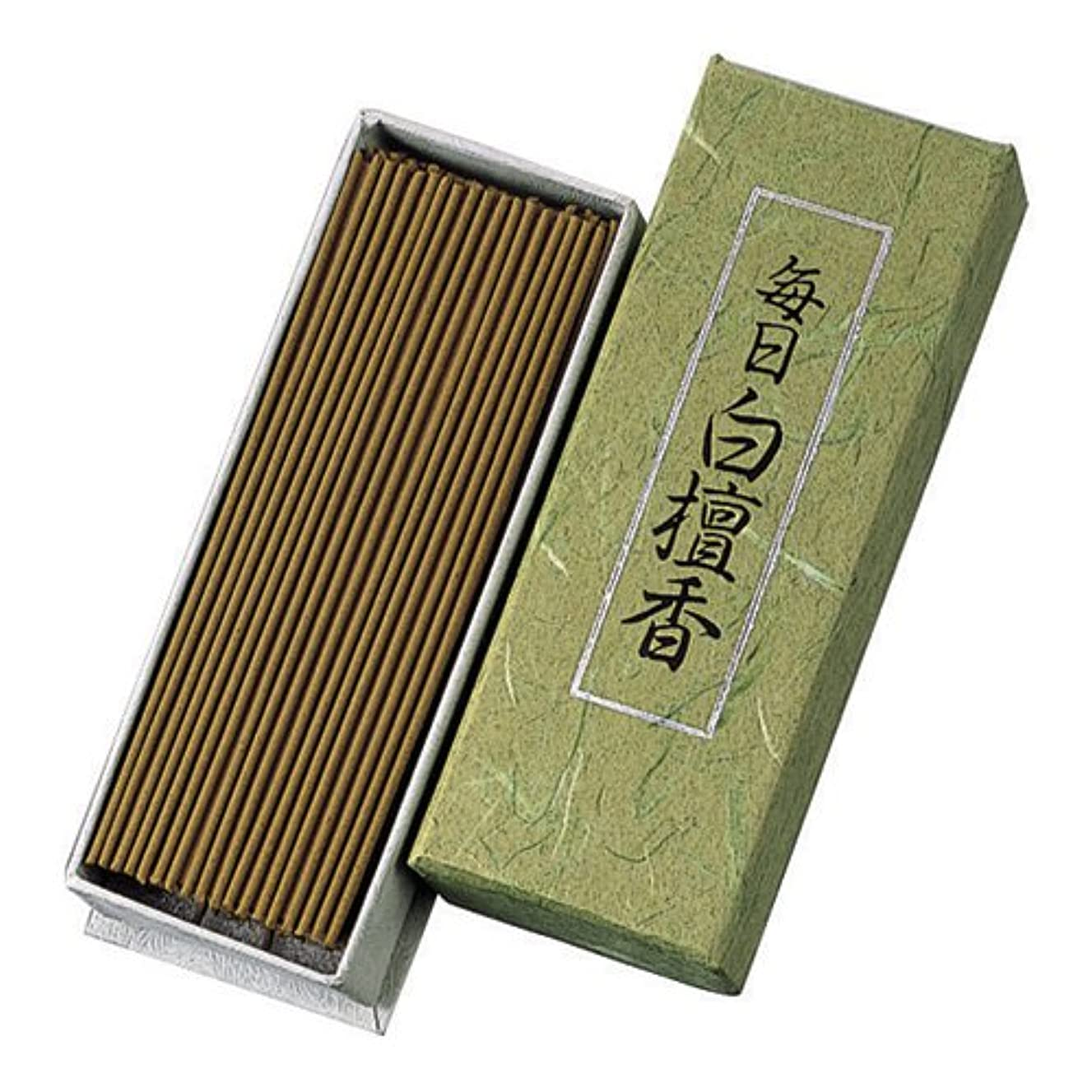 クレーターマイルストーン移動するNippon Kodo – Mainichi Byakudan – Sandalwood Incense 150 sticks