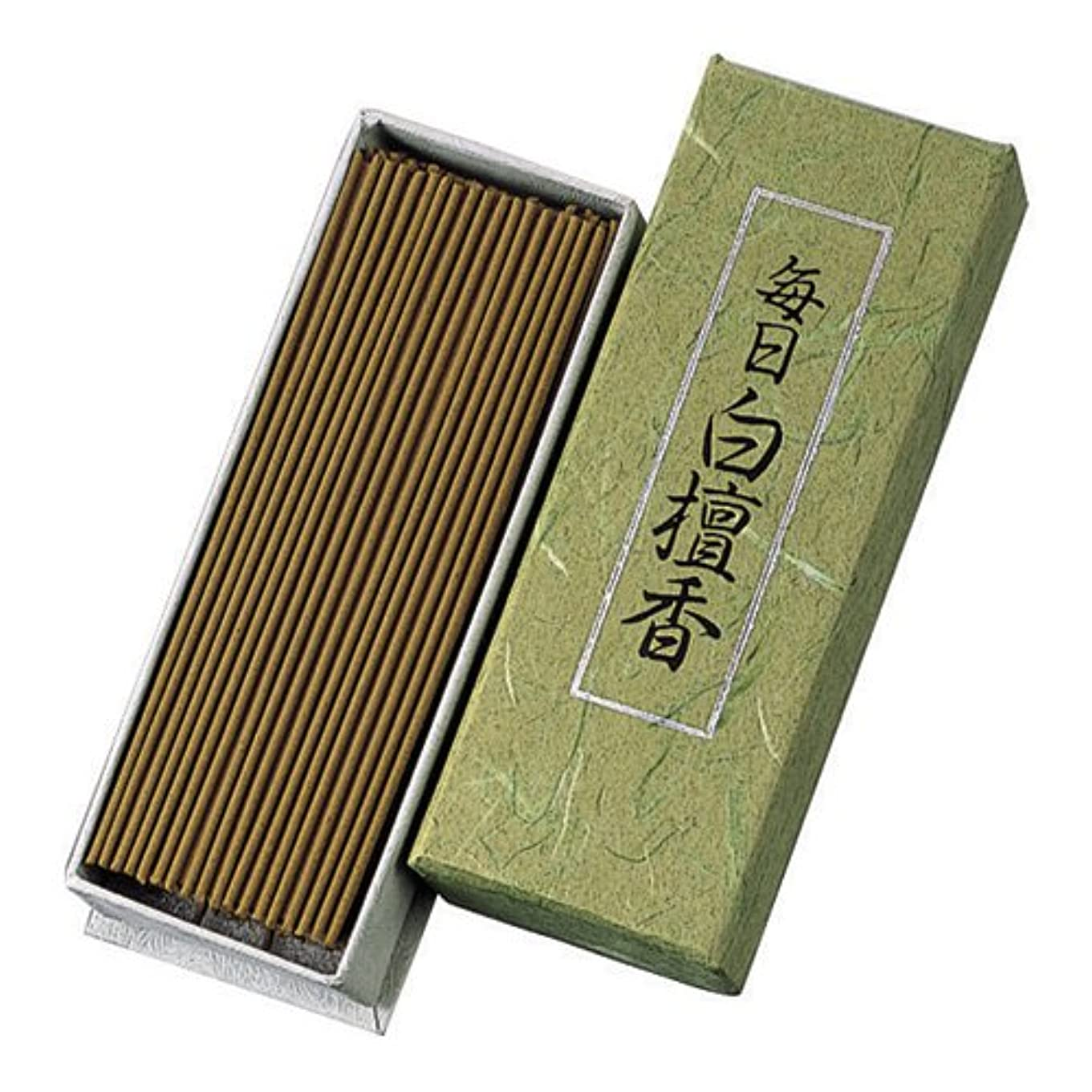 つま先ファンタジー平方Nippon Kodo – Mainichi Byakudan – Sandalwood Incense 150 sticks