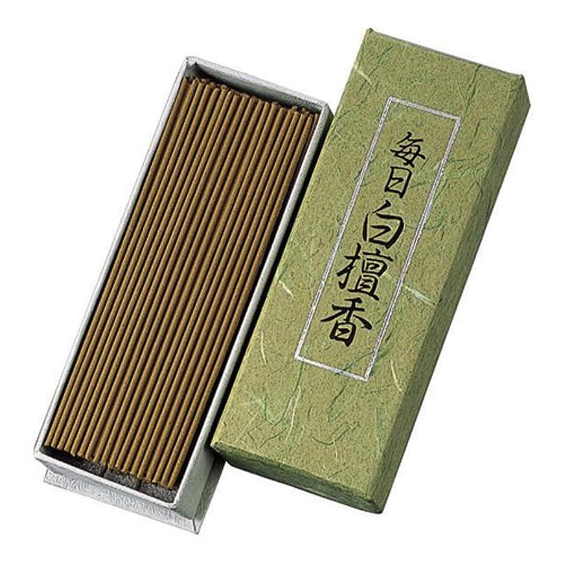認証サリーボーナスNippon Kodo – Mainichi Byakudan – Sandalwood Incense 150 sticks