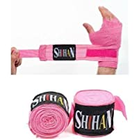 Boxing Hand Wraps shihan-max – 1ペアピンク、ボクシング、キックボクシング、MMA、タイボクシングfor Wone by Hand Wraps